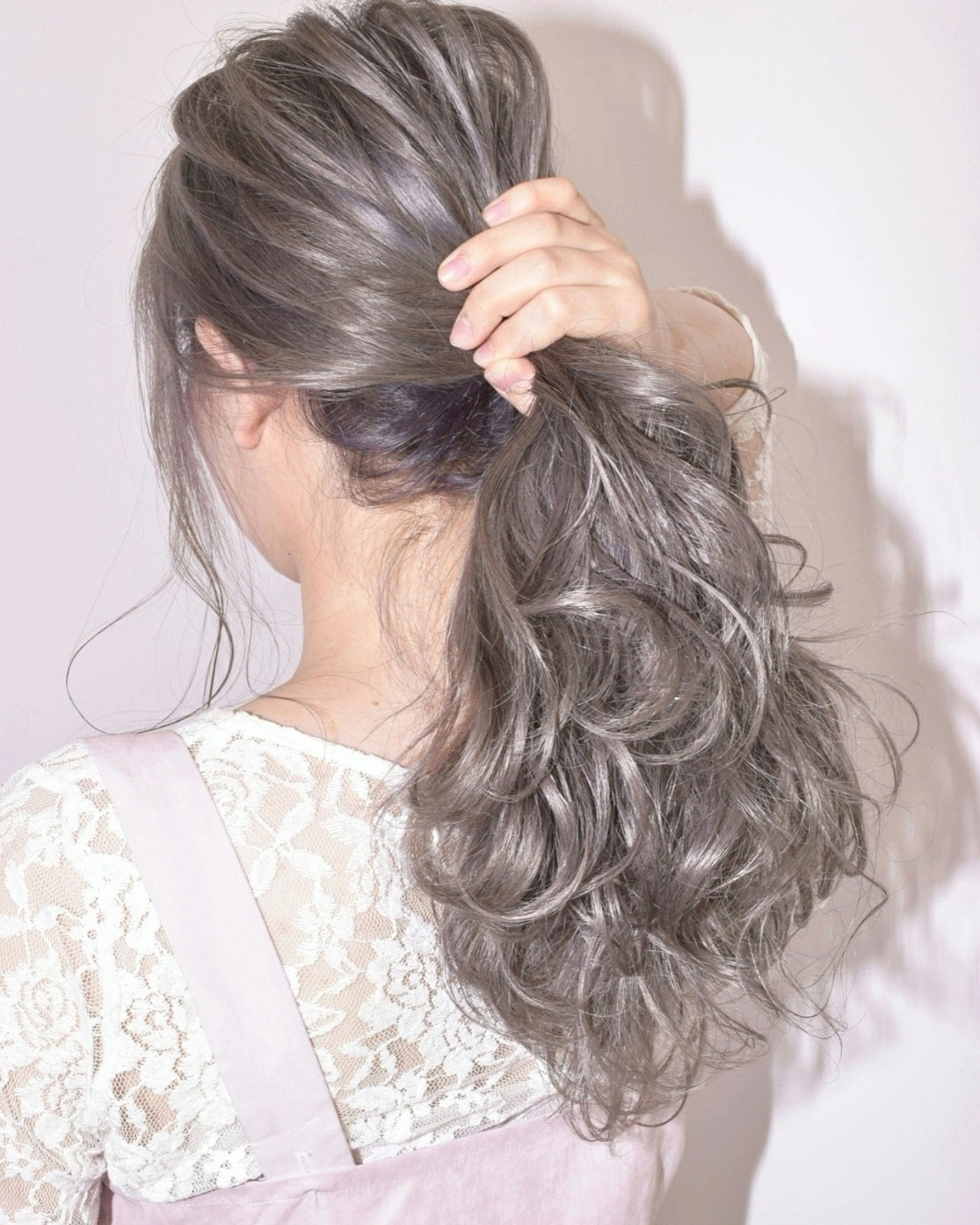 秋 デート ヘアアレンジ 透明感 ヘアスタイルや髪型の写真・画像
