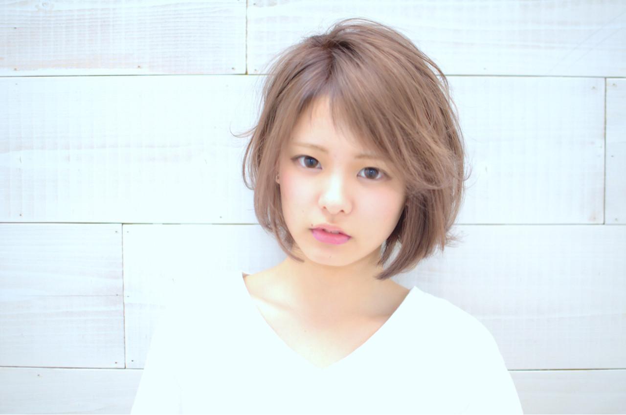 外ハネ 大人かわいい ストリート ショート ヘアスタイルや髪型の写真・画像 | 三村 昇 / MUSEUM(ミュージアム)