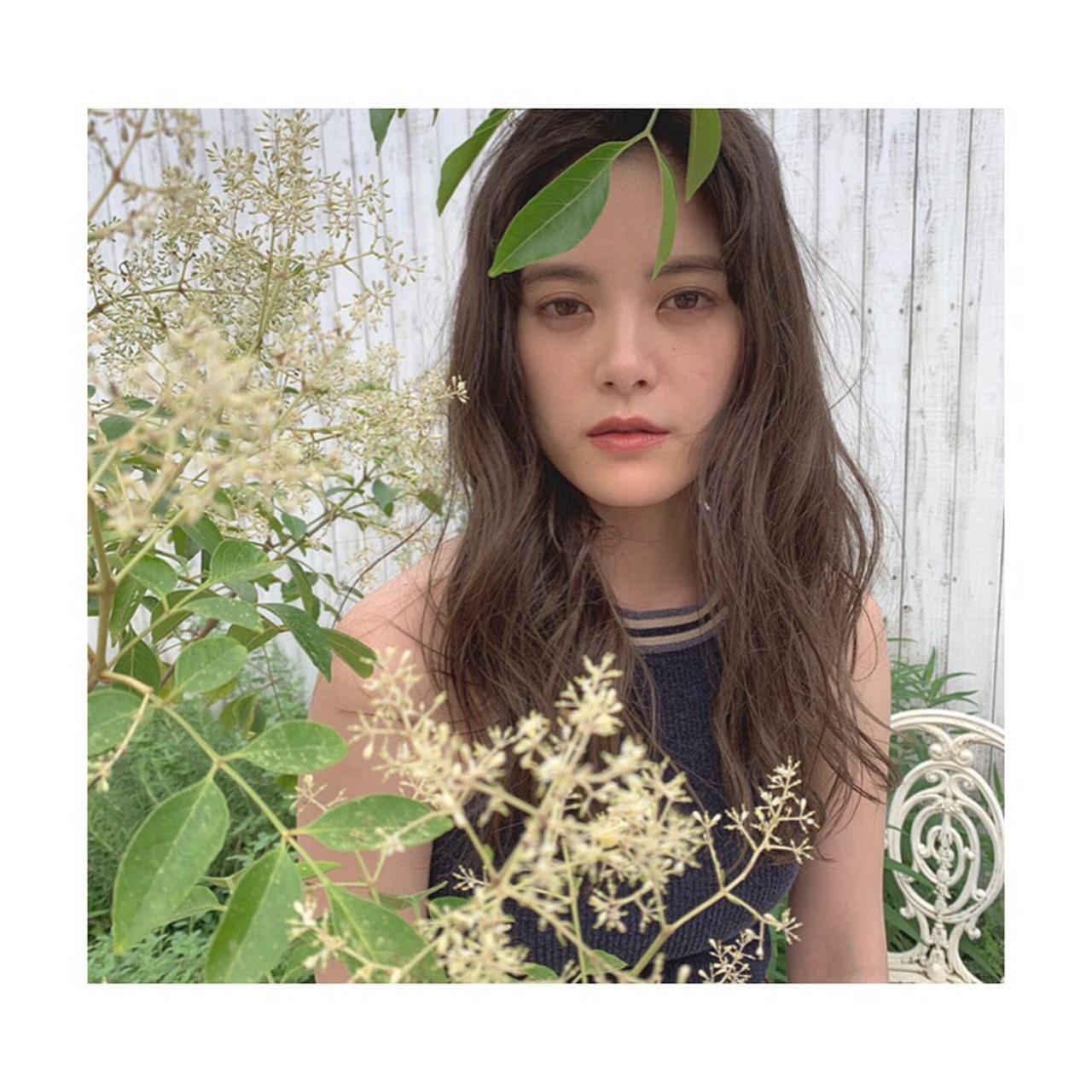 ハイライト ヘルシースタイル ロング 外国人風カラー ヘアスタイルや髪型の写真・画像