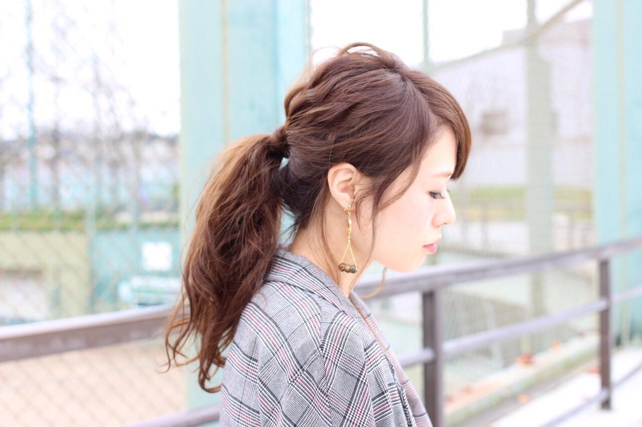 横から見ても美しい♡野暮ったく見せないポニーテールの作り方とポイントとは?  桐谷 芽依
