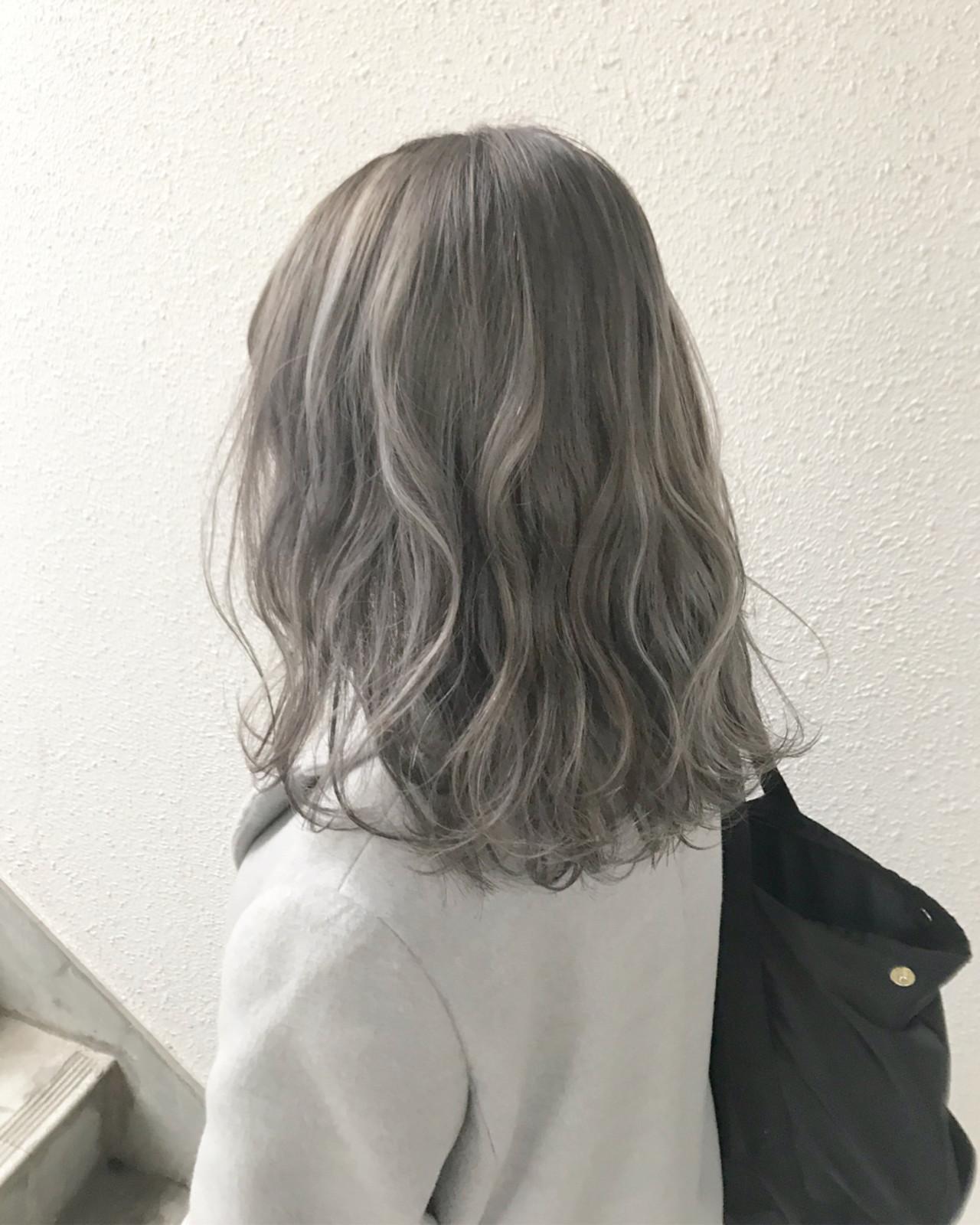モード ミディアム ハイトーン ブリーチ ヘアスタイルや髪型の写真・画像 | ヨシダタイシ / CHERIE hairdesign