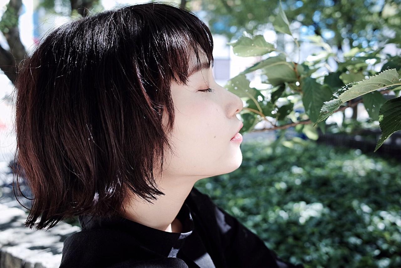 愛され 外国人風 ショートボブ 外ハネ ヘアスタイルや髪型の写真・画像   カラーリスト・YuuKi Sekimoto / wherever