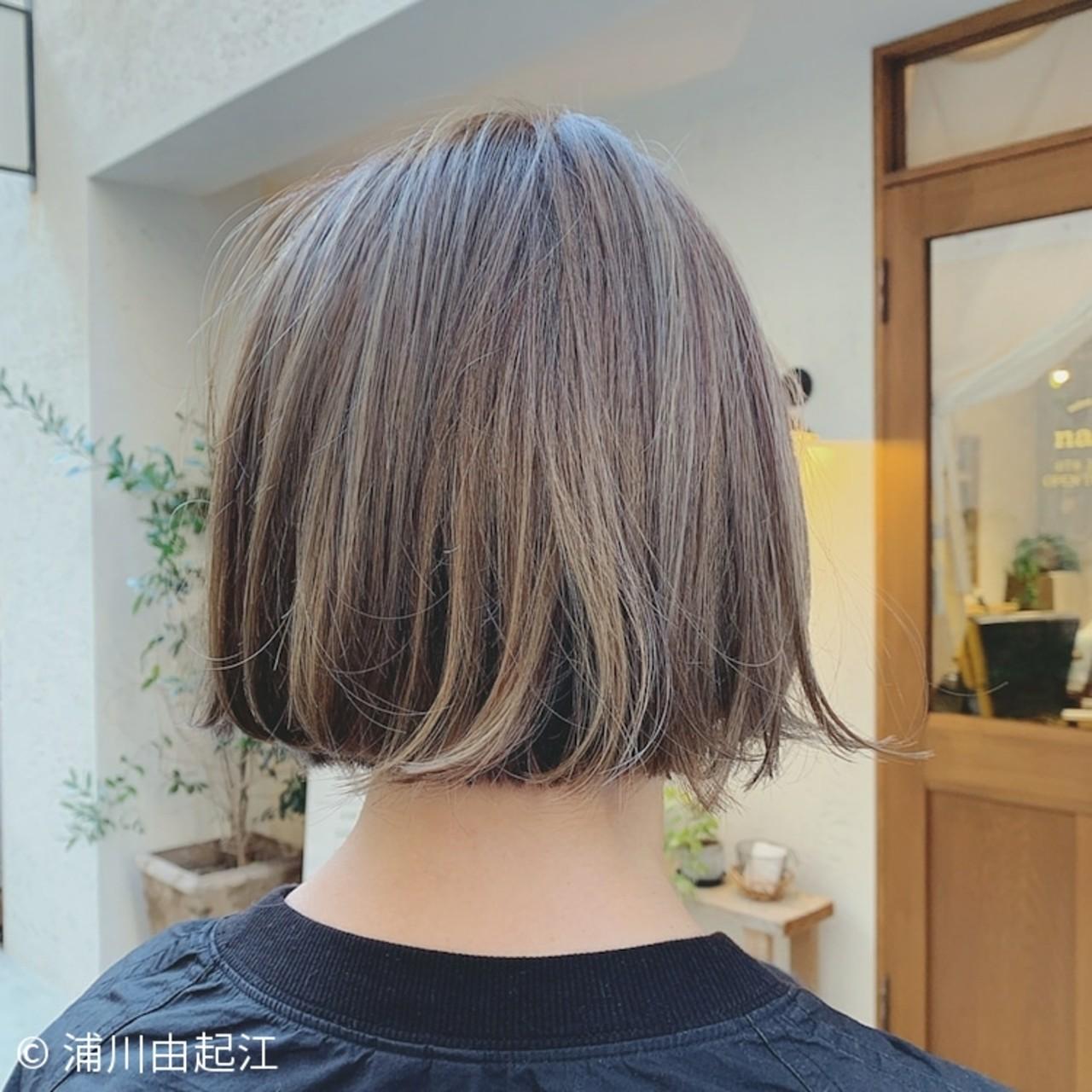 デート ナチュラル 秋冬ショート ボブ ヘアスタイルや髪型の写真・画像