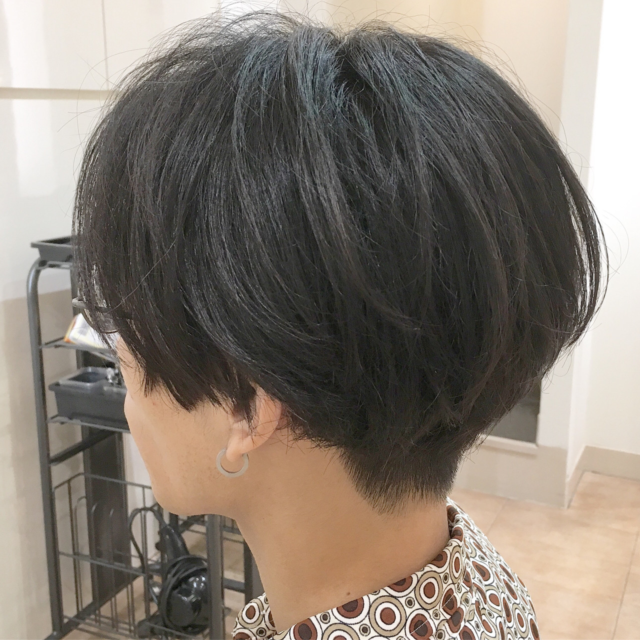 メンズ センターパート ショート ツーブロック ヘアスタイルや髪型の写真・画像