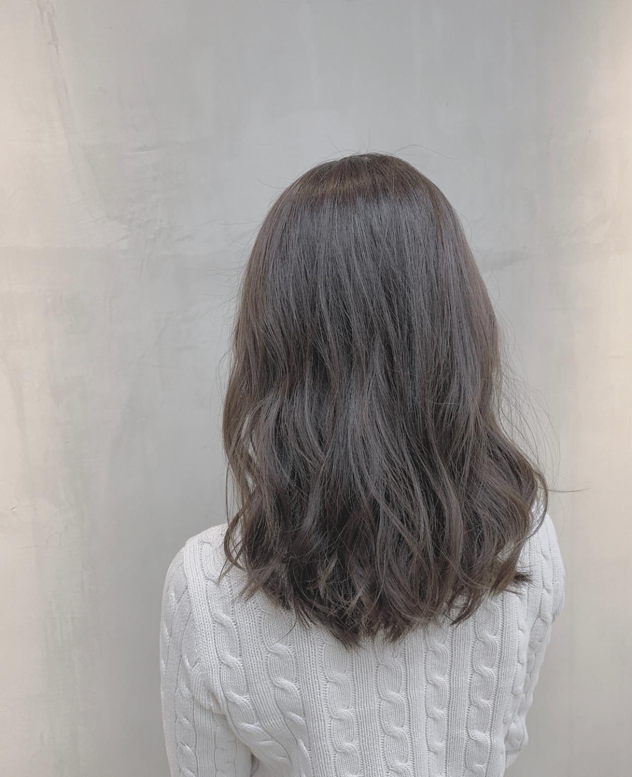 ハイライト 外国人風カラー 透明感カラー ブルージュ ヘアスタイルや髪型の写真・画像