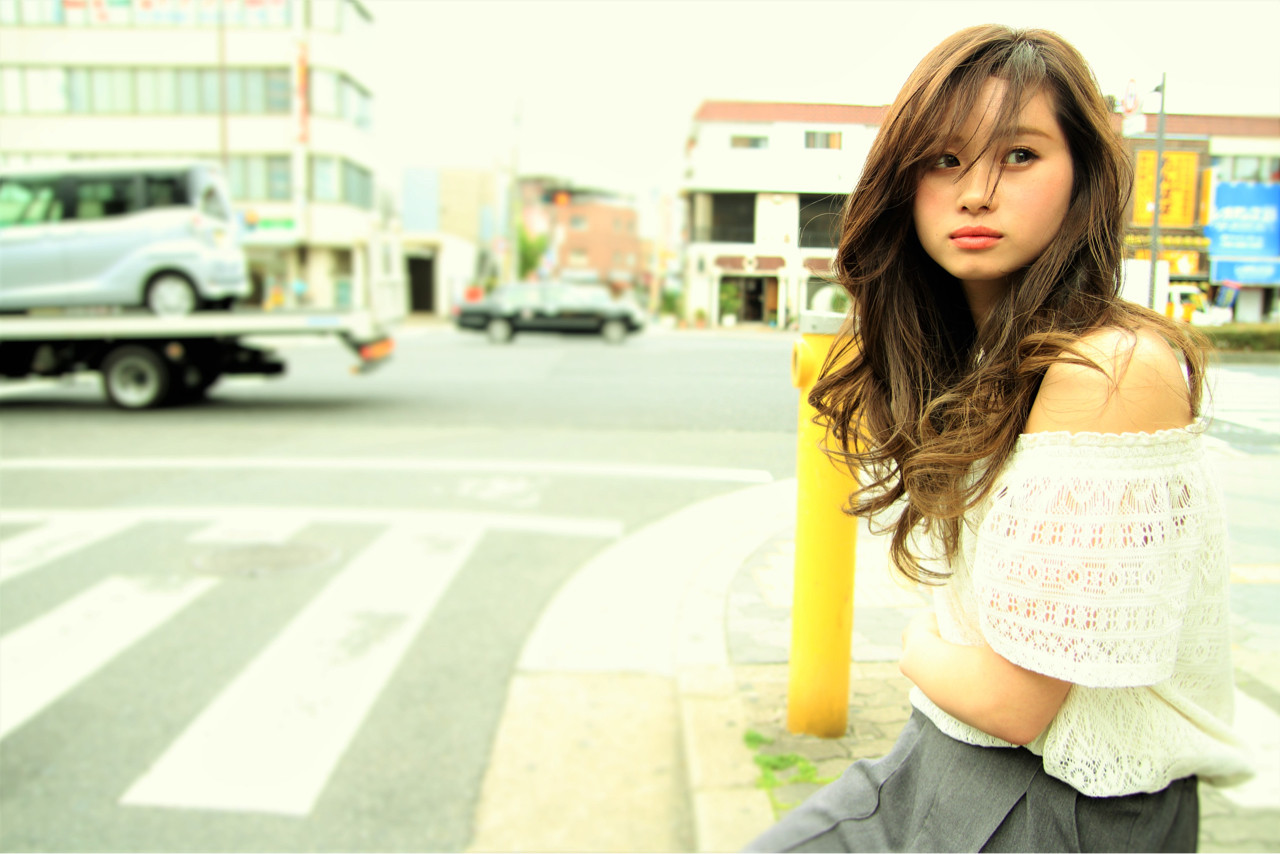 グラデーションカラー ストリート 抜け感 アッシュ ヘアスタイルや髪型の写真・画像   takaki taisuke / lotti