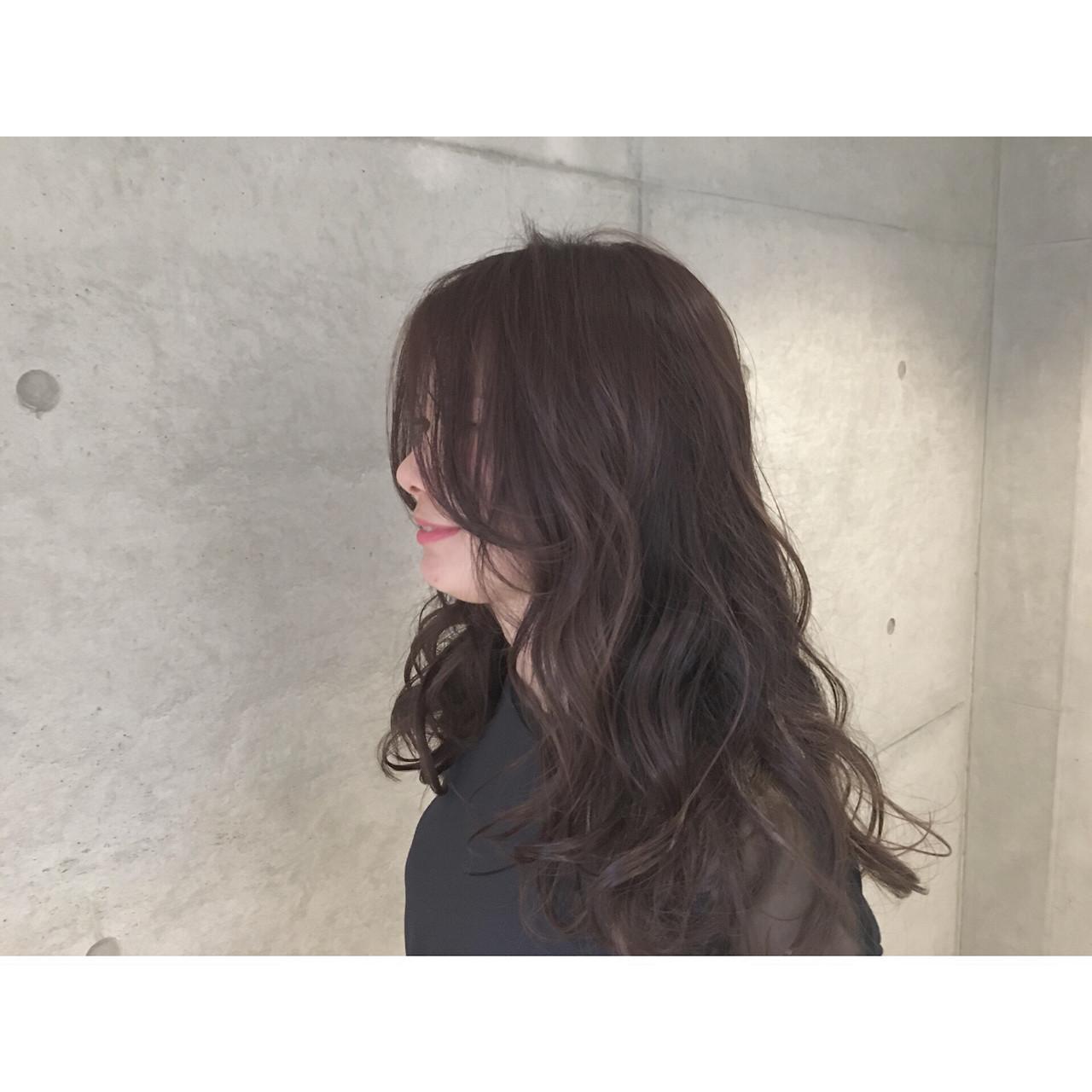 外国人風 暗髪 ゆるふわ 大人かわいい ヘアスタイルや髪型の写真・画像   Sayaka / diptyMOILA