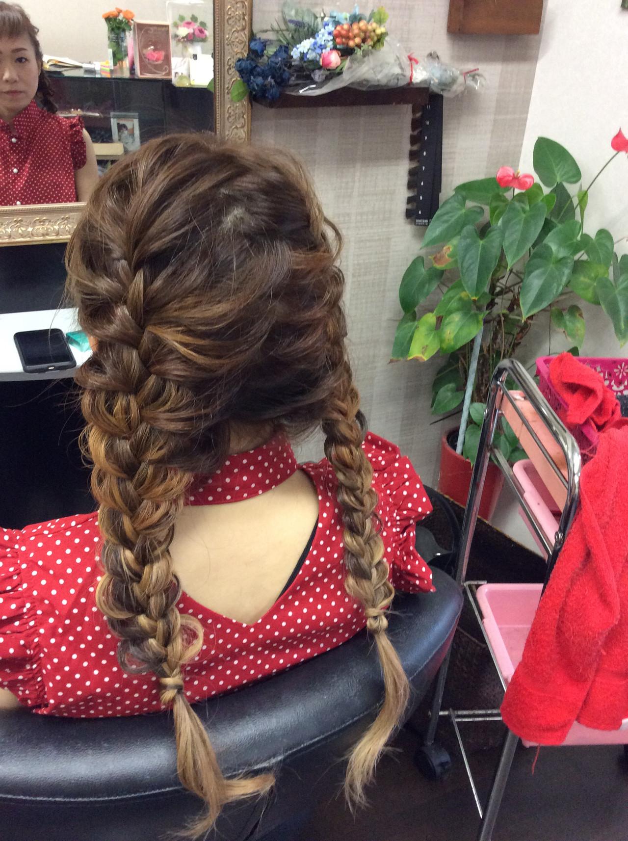 簡単ヘアアレンジ デート ロング ヘアアレンジ ヘアスタイルや髪型の写真・画像
