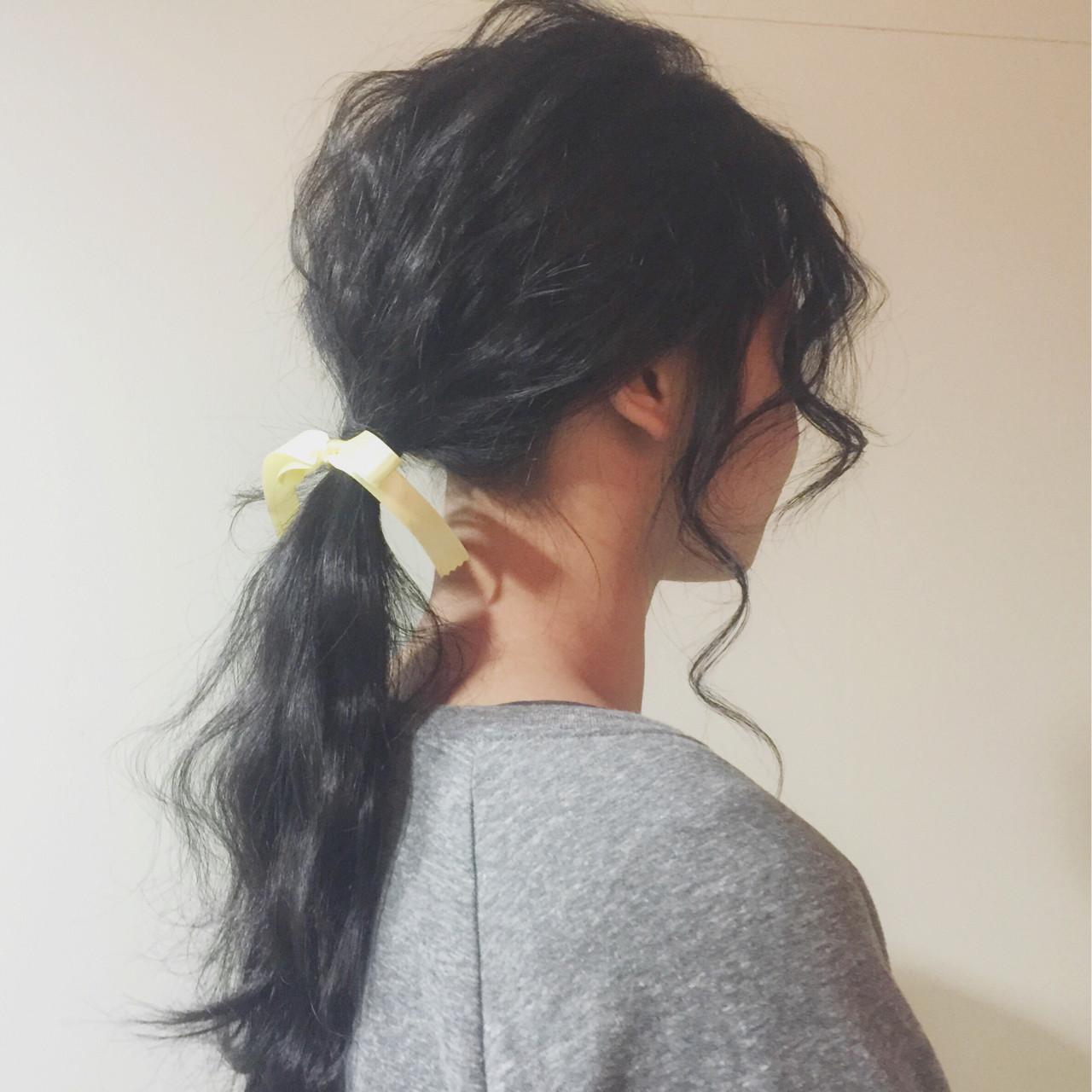 透明感 ロング ヘアアレンジ 外国人風 ヘアスタイルや髪型の写真・画像 | 兼井 遼 / wille