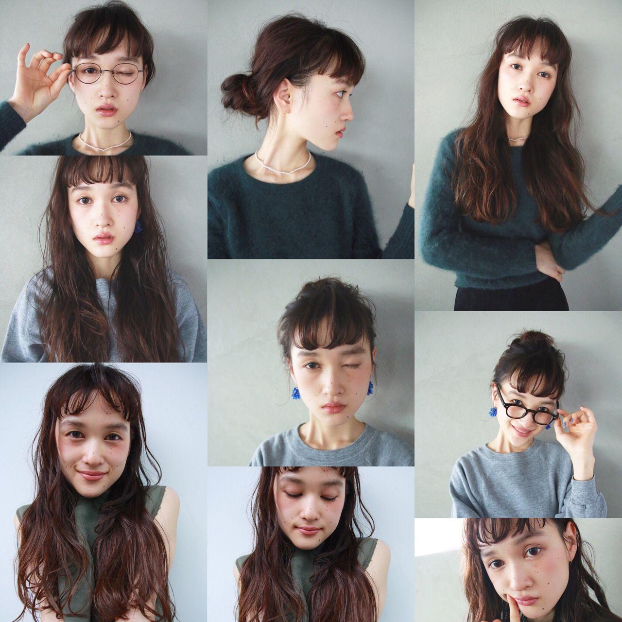 外国人風 簡単ヘアアレンジ ロング ウェーブ ヘアスタイルや髪型の写真・画像