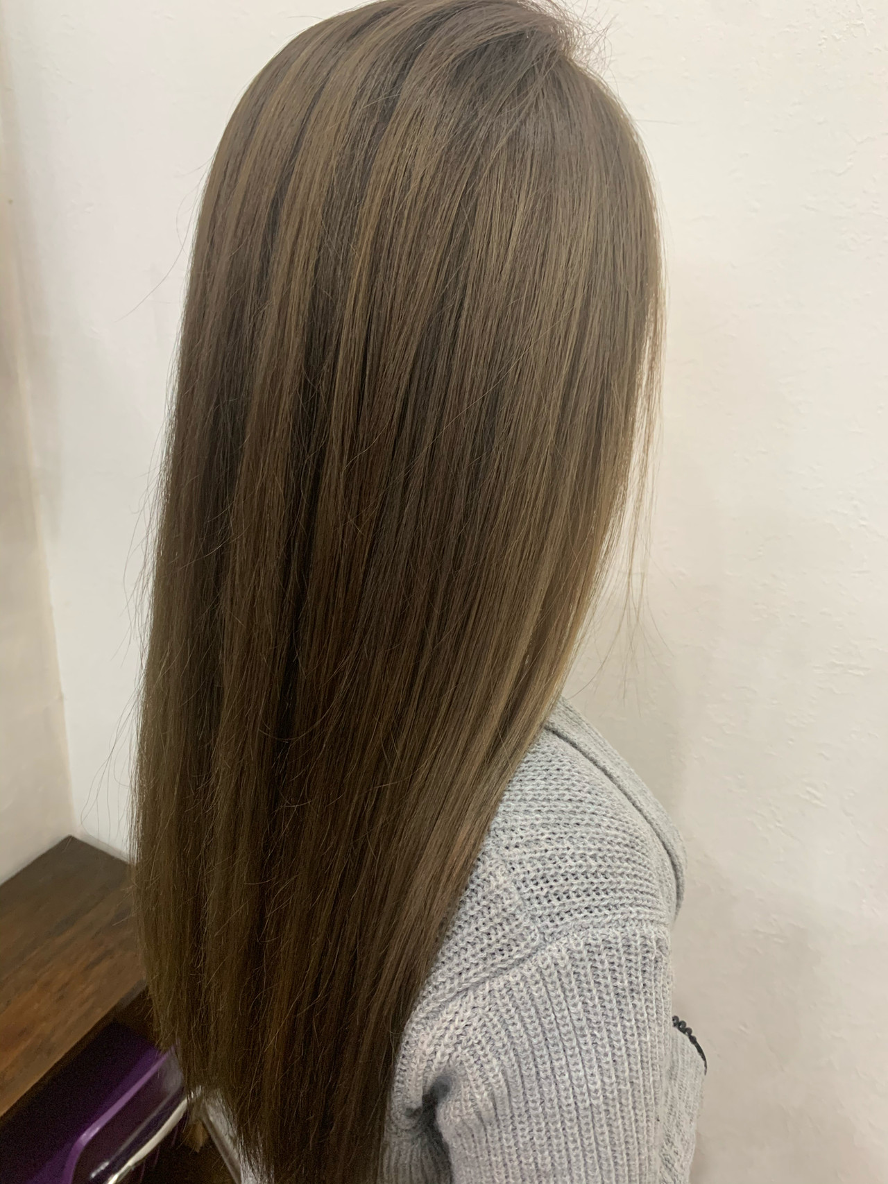 ブラウン ハイライト ブラウンベージュ ロング ヘアスタイルや髪型の写真・画像   中村怜奈 / ECOLOGICaL GLOBES