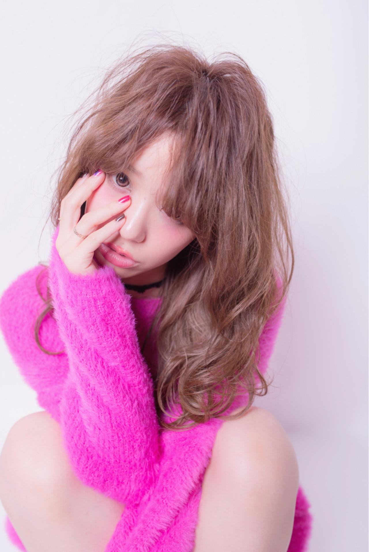 こなれ感 大人かわいい ガーリー 大人女子 ヘアスタイルや髪型の写真・画像