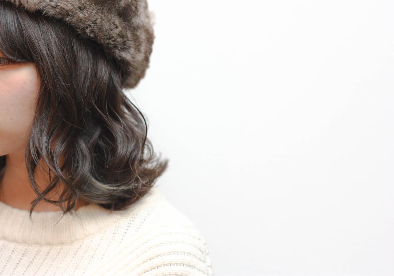 色気 ボブ グラデーションカラー アッシュ ヘアスタイルや髪型の写真・画像