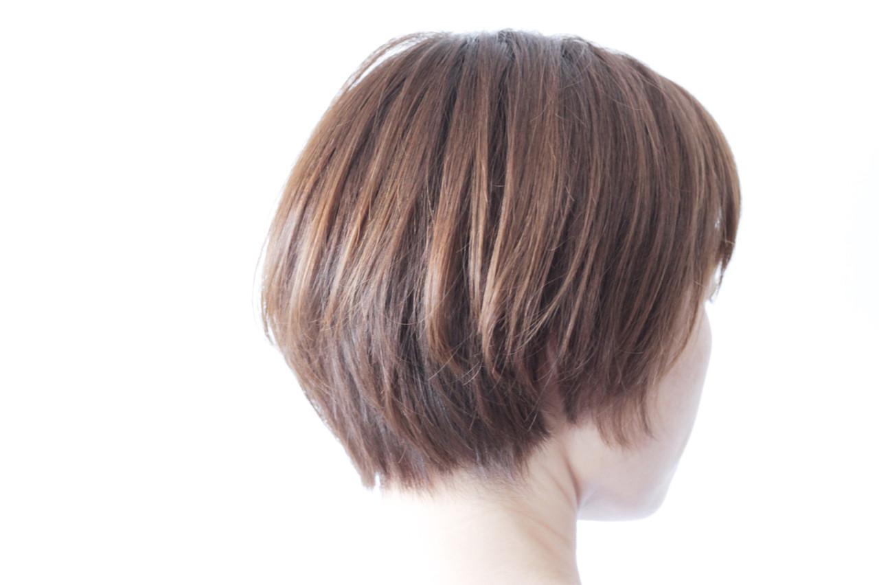 ハイライト パープル コントラストハイライト ナチュラル ヘアスタイルや髪型の写真・画像