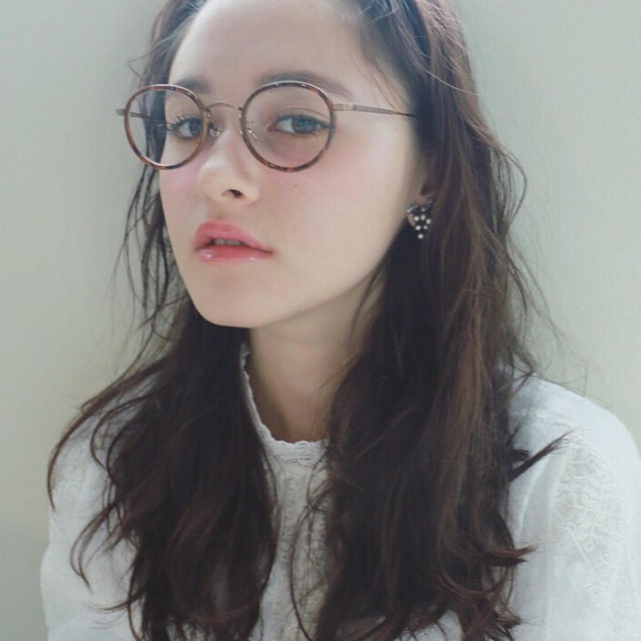 セミロング 外国人風 黒髪 ナチュラル ヘアスタイルや髪型の写真・画像 | 高橋 忍 / nanuk渋谷店(ナヌーク)