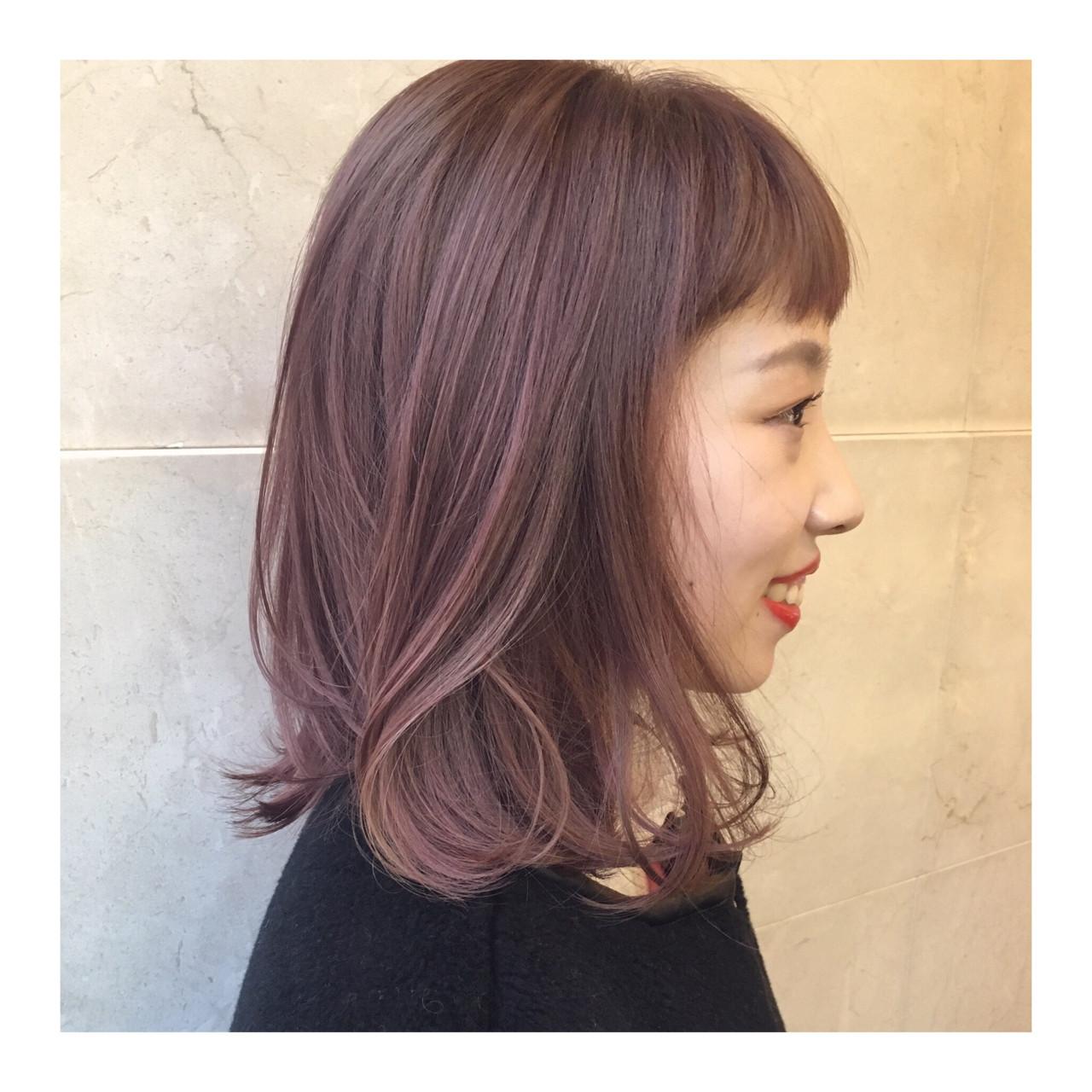 色気 ハイライト ハイトーン ストリート ヘアスタイルや髪型の写真・画像 | 西嶋えり子 / HAIR'S Lunetta