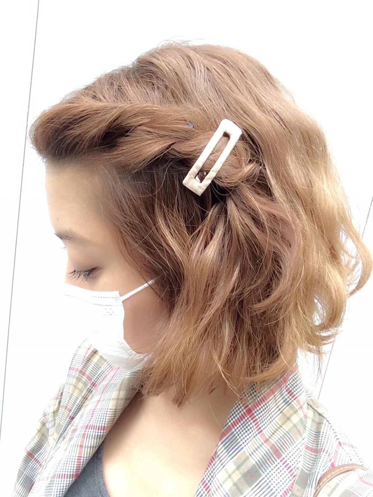 伸ばしかけの前髪もイメチェンも簡単に。明日から変えられる前髪アレンジ 中川遥