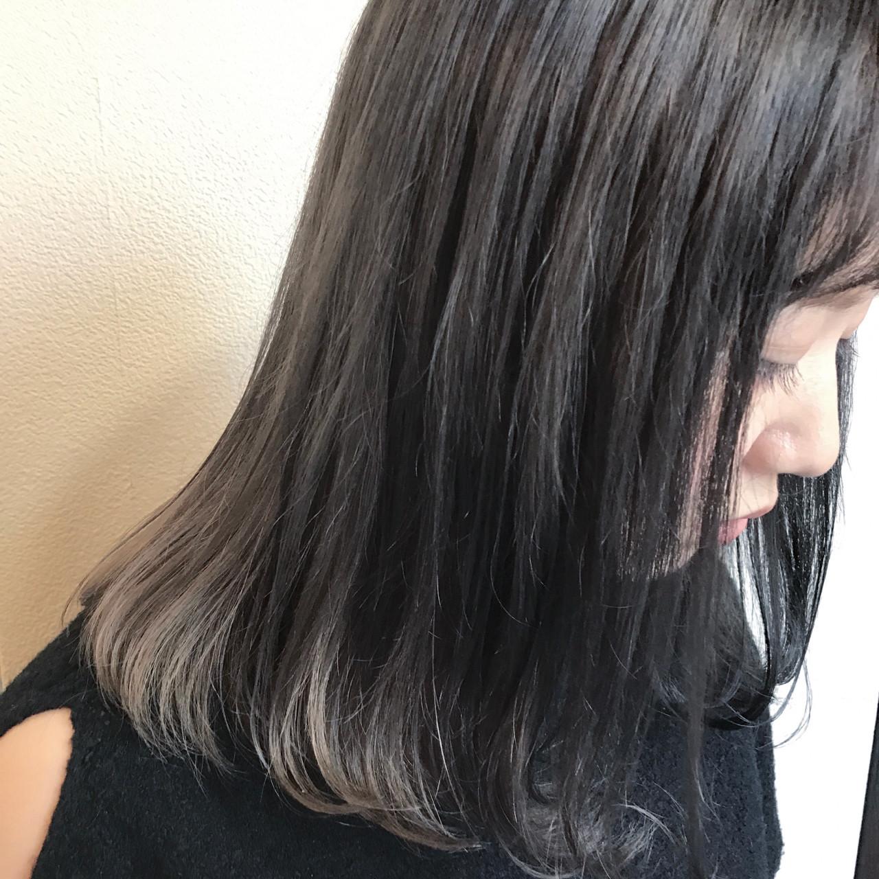 黒髪より魅力的。透明感のある「暗髪美人」をつくる方法  井上瑛絵