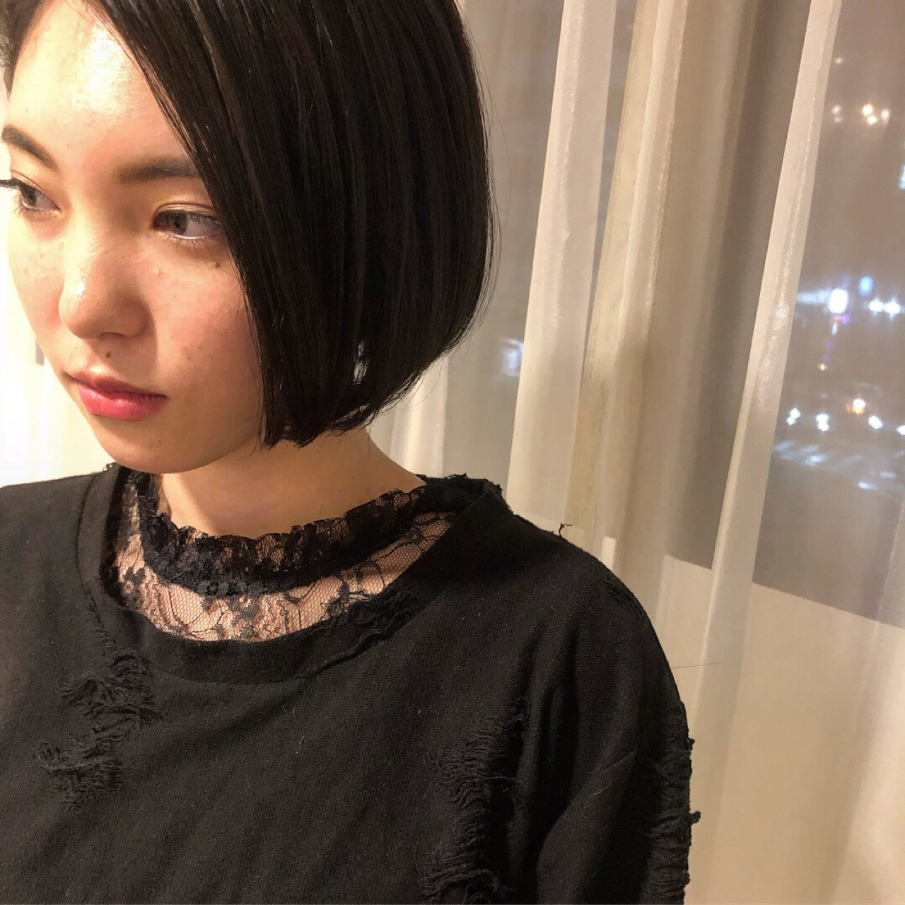 結婚式 ボブ 外ハネ モード|LESS 井手 博之 368905【HAIR】