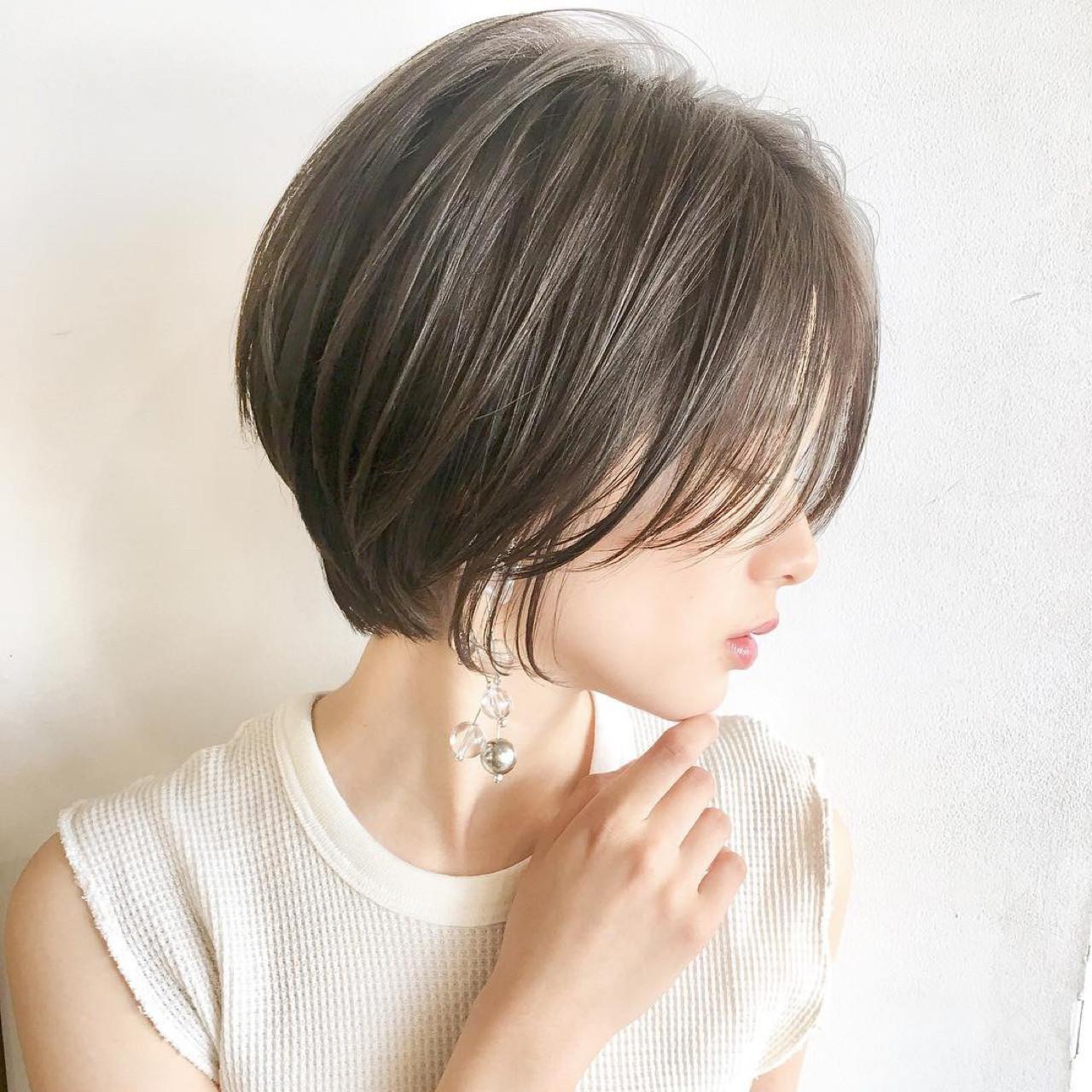 簡単ヘアアレンジ ヘアアレンジ ショート 女子力 ヘアスタイルや髪型の写真・画像 | ショートボブの匠【 山内大成 】『i.hair』 / 『 i. 』 omotesando