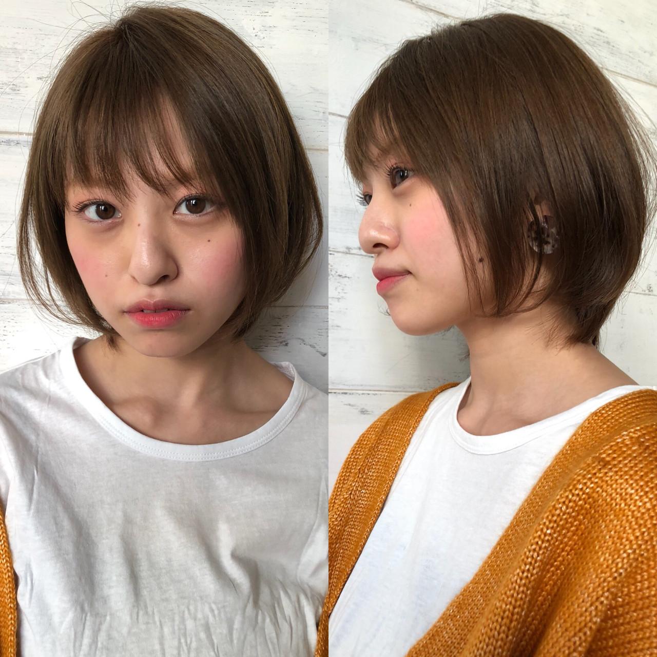 オフィス ボブ ヘアアレンジ 簡単ヘアアレンジ ヘアスタイルや髪型の写真・画像 | ナガヤ アキラ joemi 新宿 / joemi by Un ami