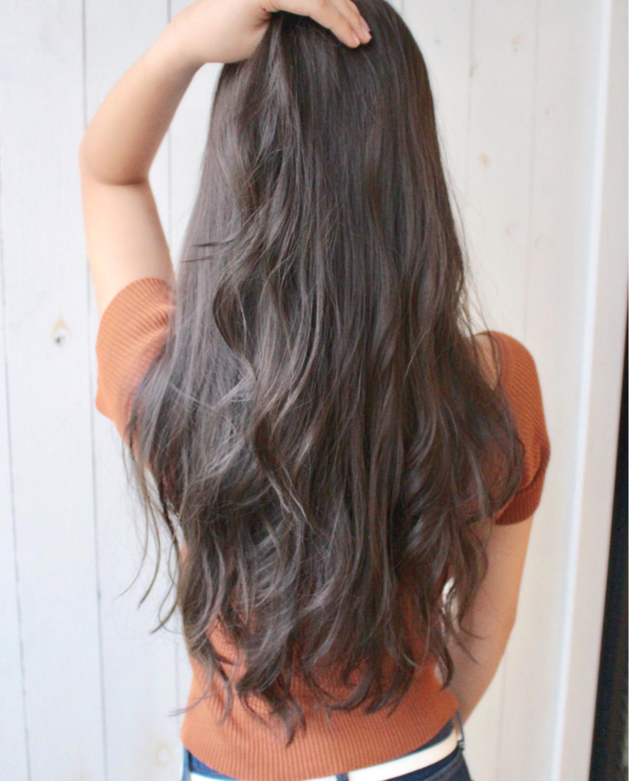 デート 透明感 外国人風カラー ロング ヘアスタイルや髪型の写真・画像   松田 和幸 / tuuli
