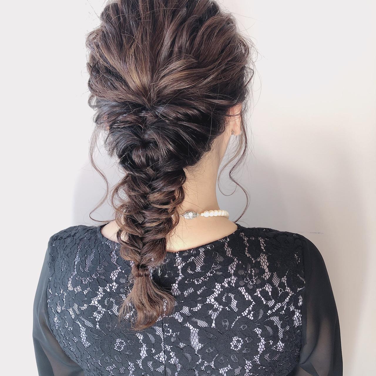 成人式 ロング ヘアアレンジ デート ヘアスタイルや髪型の写真・画像 | 多田 朱音 / JLB