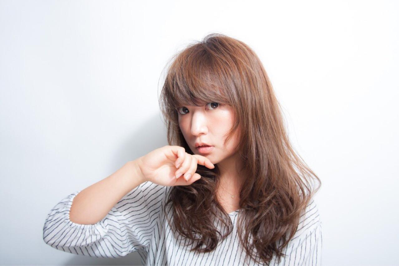秋 ロング アンニュイ 大人かわいい ヘアスタイルや髪型の写真・画像