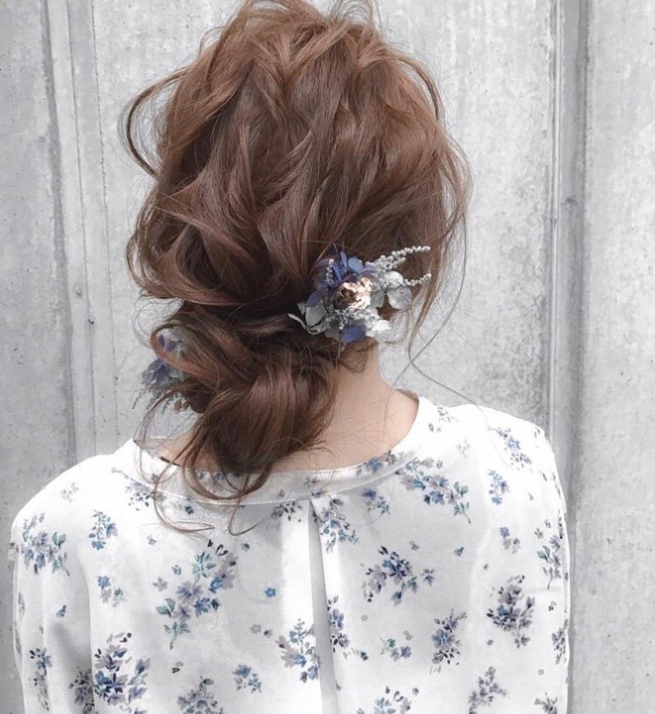 セミロング 成人式 デート ナチュラル ヘアスタイルや髪型の写真・画像   三木 奨太 / hair set salon  IRIS