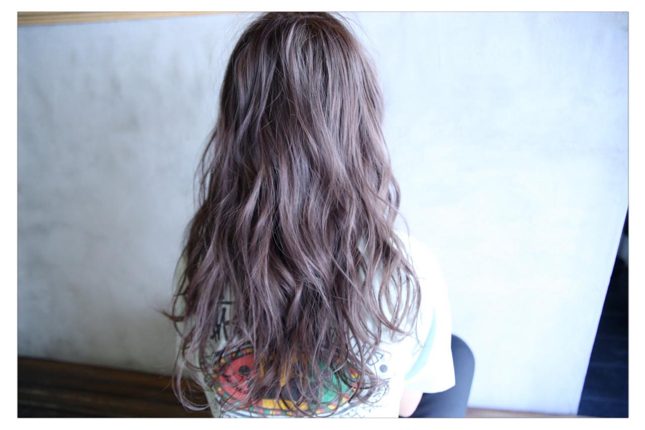 アッシュ 外国人風 ヘアアレンジ 透明感 ヘアスタイルや髪型の写真・画像