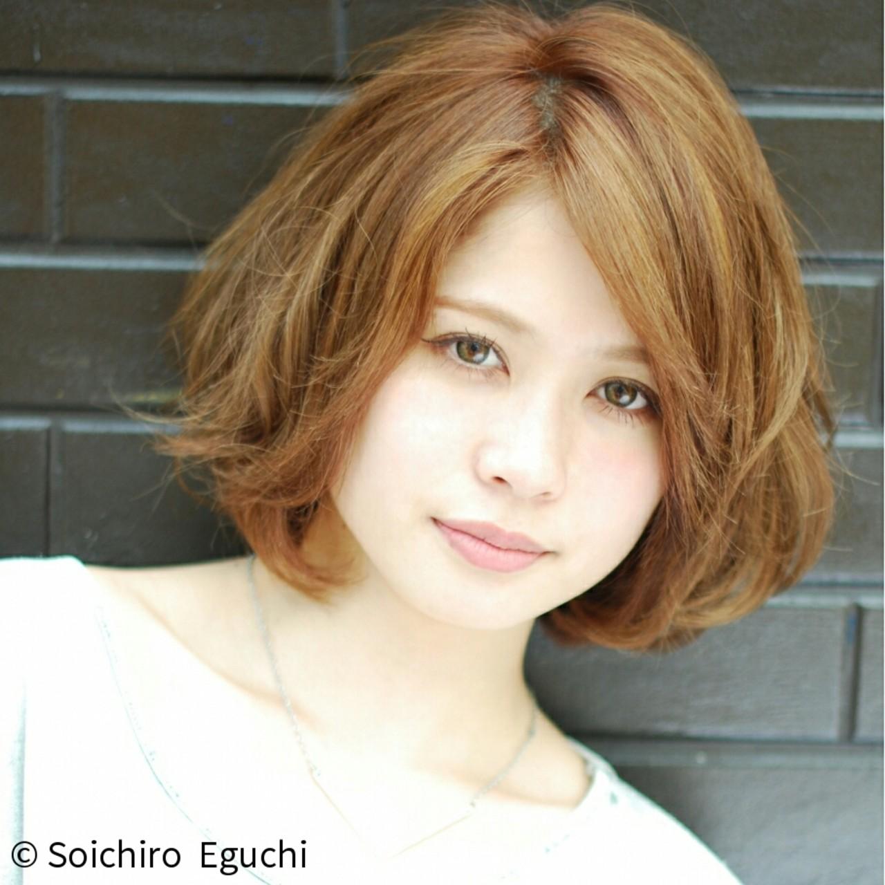 ストリート ボブ 外国人風 ハイトーン ヘアスタイルや髪型の写真・画像 | Soichiro Eguchi / La familia(原宿) Bonita by Lafamilia(横浜元町)