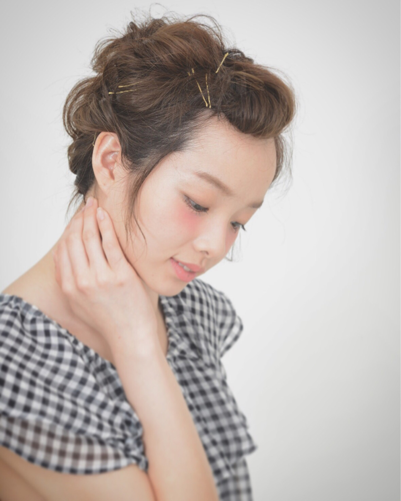 外国人風 大人かわいい ピュア ボブ ヘアスタイルや髪型の写真・画像