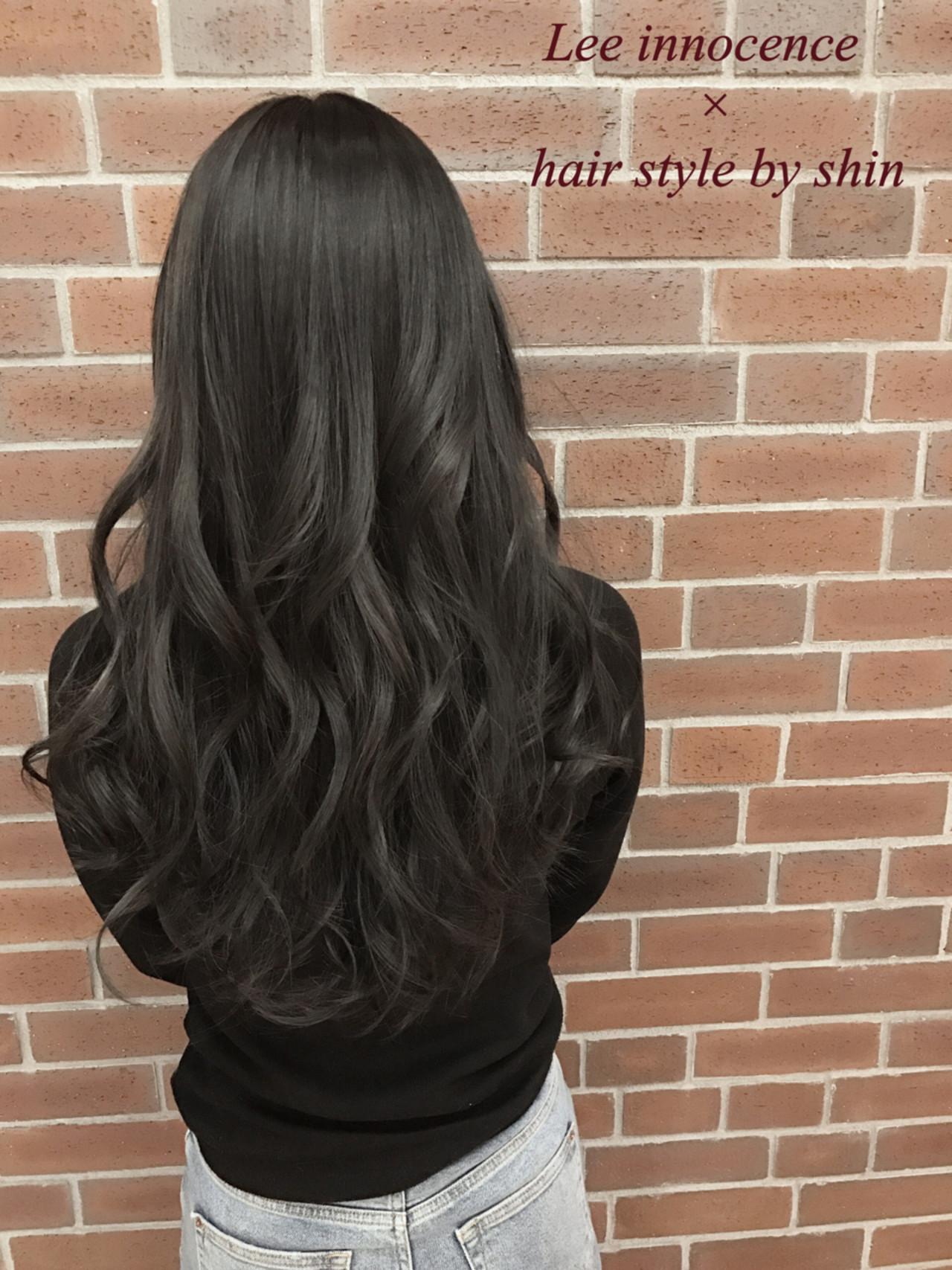外国人風 アッシュ ナチュラル 冬 ヘアスタイルや髪型の写真・画像   Lee innocence 宮本伸一(shin) / Lee innocence 西宮北口店