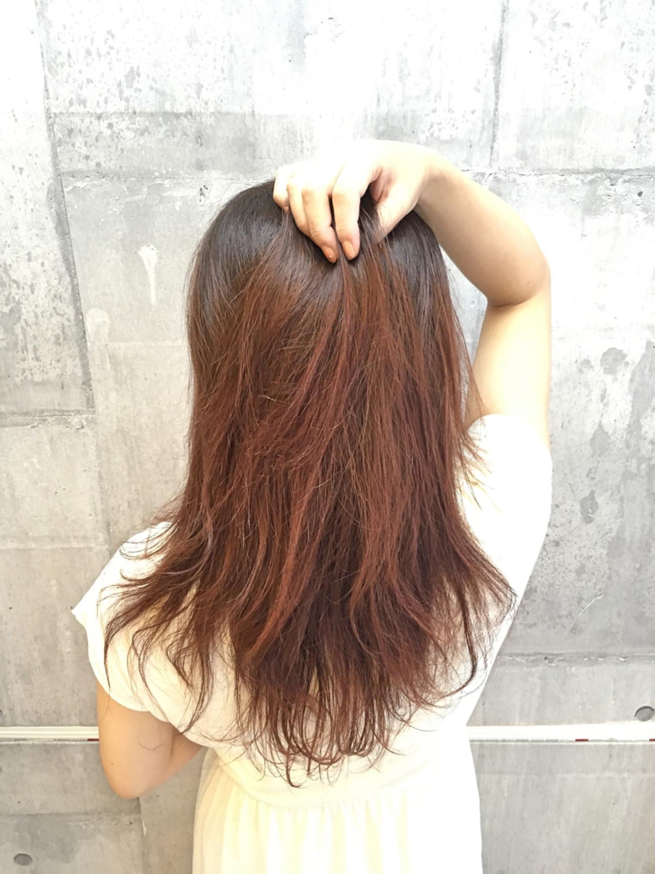 セミロング 外国人風カラー ナチュラル 透明感 ヘアスタイルや髪型の写真・画像   菊池真也 / color-cabin-carat
