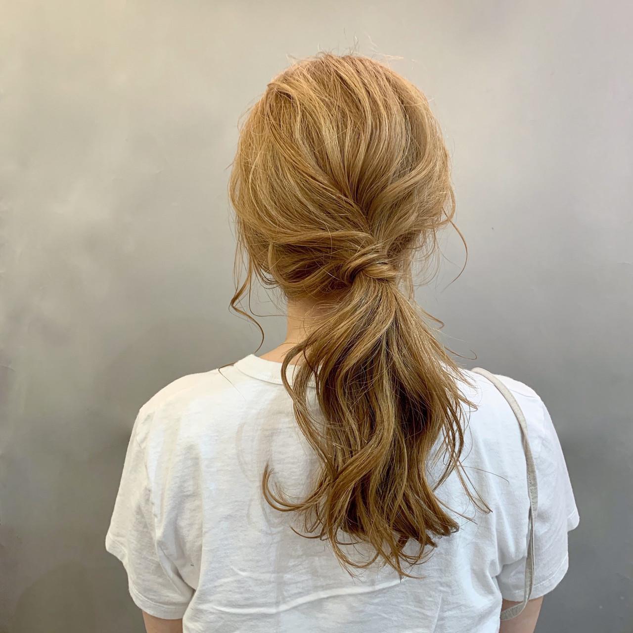 スポーツ アウトドア ナチュラル デート ヘアスタイルや髪型の写真・画像 | 安永怜 / kakimotoarms田園調布