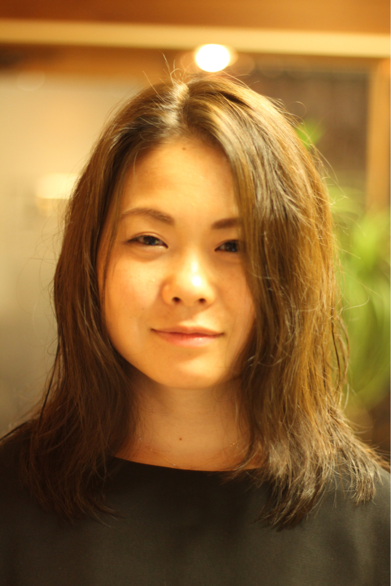 ガーリー モテ髪 セミロング 透明感 ヘアスタイルや髪型の写真・画像