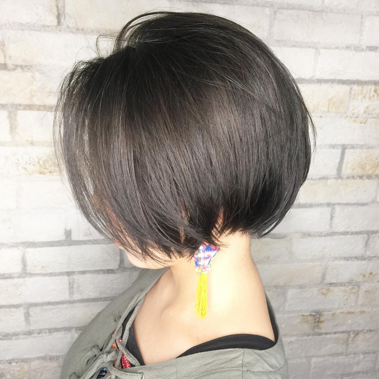 グラデーションカラー ガーリー 外国人風 ボブ ヘアスタイルや髪型の写真・画像