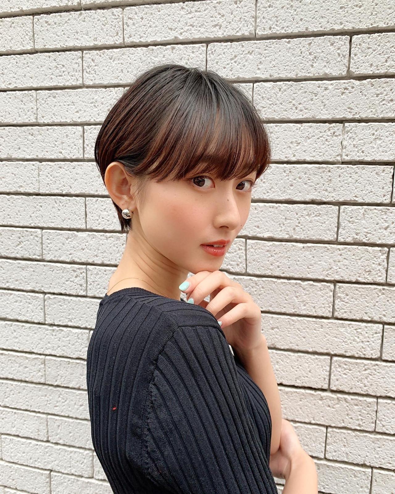 ショート ナチュラル ベリーショート ショートヘア ヘアスタイルや髪型の写真・画像 | 山口 健太 / Lond ange