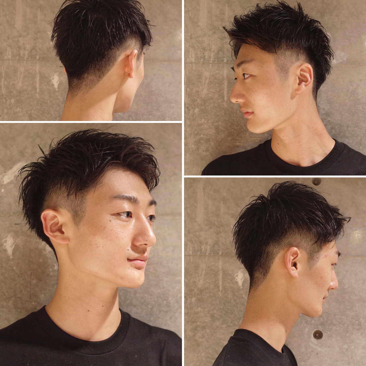 ストリート メンズ ツーブロック ショート ヘアスタイルや髪型の写真・画像