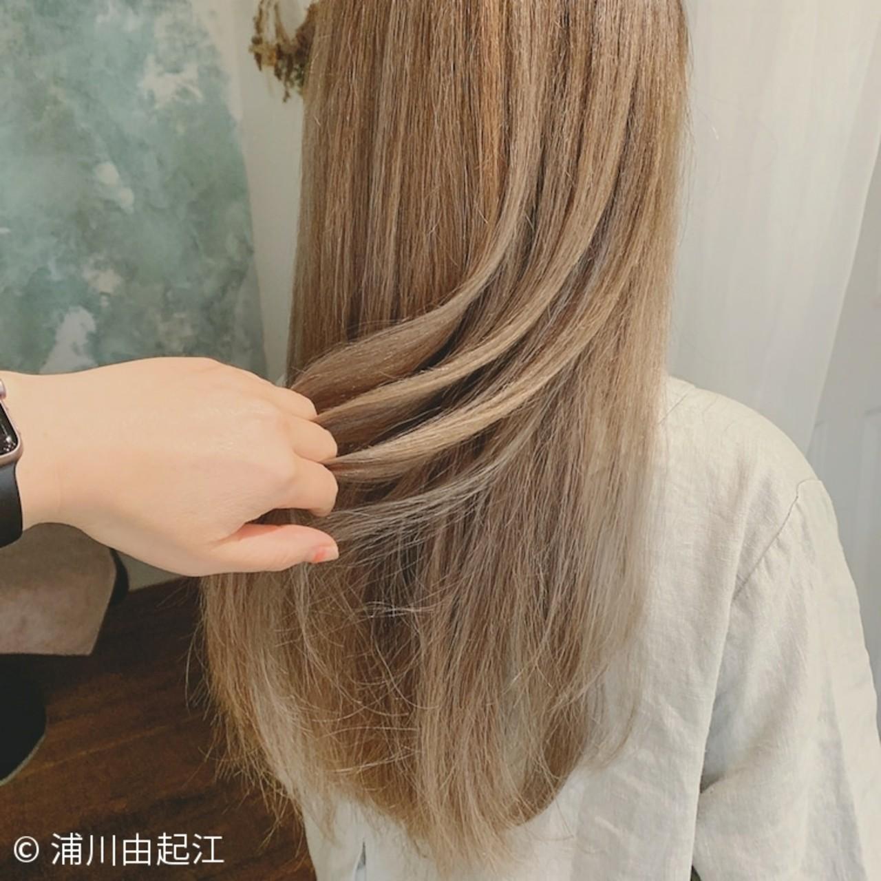 ゆるふわ デート モテ髪 大人かわいい ヘアスタイルや髪型の写真・画像 | 浦川由起江 / nanon