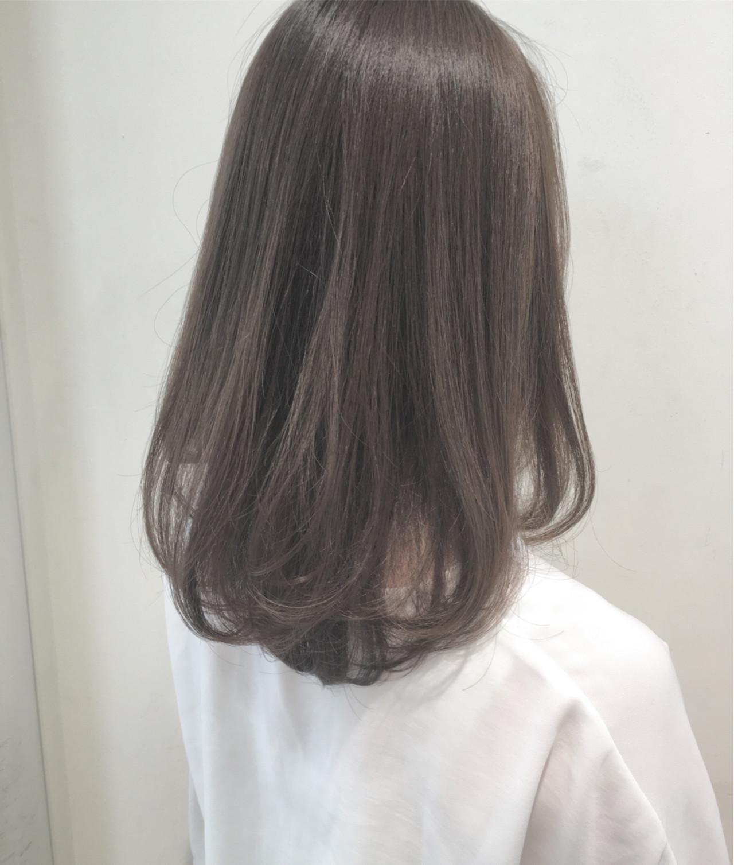 ロング 秋 ナチュラル 暗髪 ヘアスタイルや髪型の写真・画像 | 市岡 久 / BLANCOtres