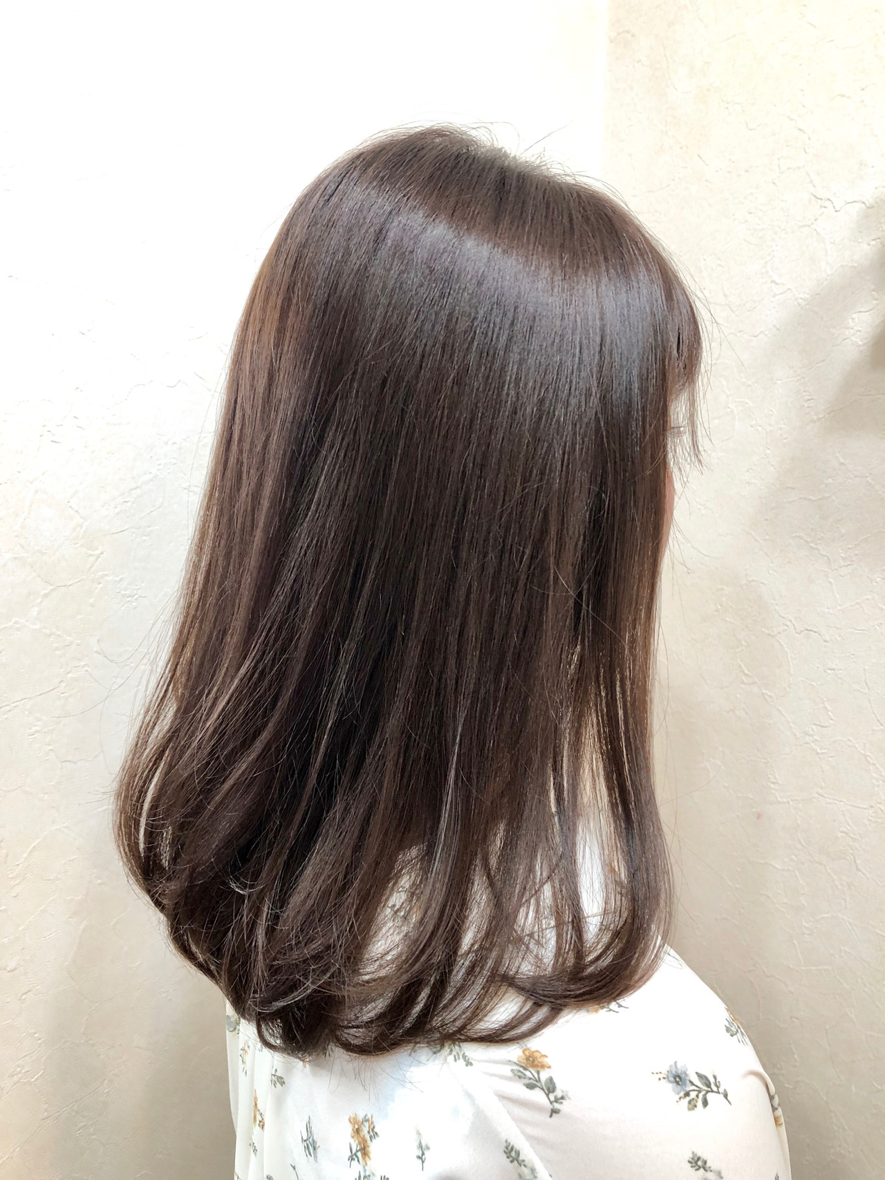 グレージュ ナチュラル アディクシーカラー ロング ヘアスタイルや髪型の写真・画像 | 村瀬隆之 / R∴EVOL