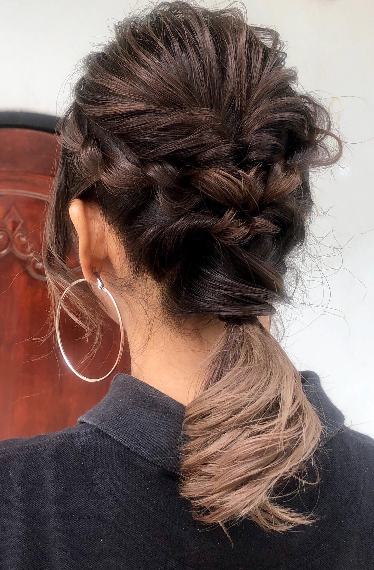 フェミニン ふわふわヘアアレンジ 結婚式ヘアアレンジ ナチュラル可愛い ヘアスタイルや髪型の写真・画像
