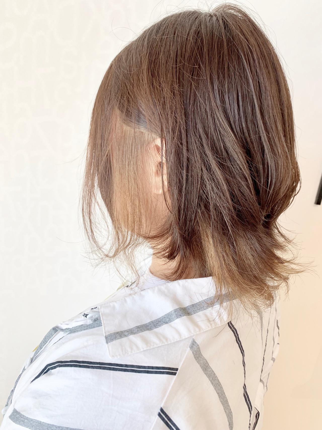 フェミニン 大人可愛い 透明感カラー ダブルカラー ヘアスタイルや髪型の写真・画像