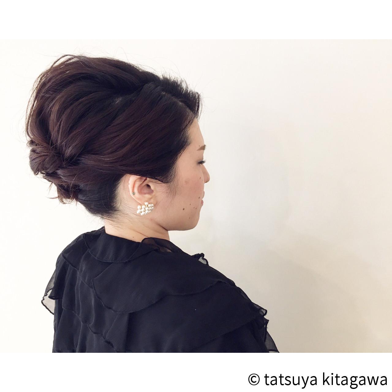 アップスタイル 上品 外国人風 ヘアアレンジ ヘアスタイルや髪型の写真・画像