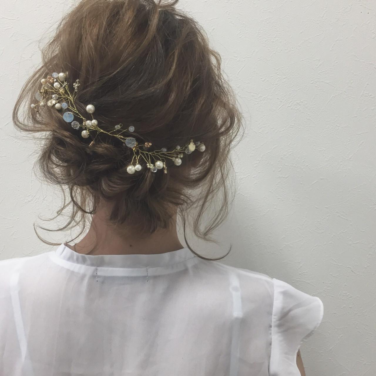ふわふわ 色気 ショート ガーリー ヘアスタイルや髪型の写真・画像