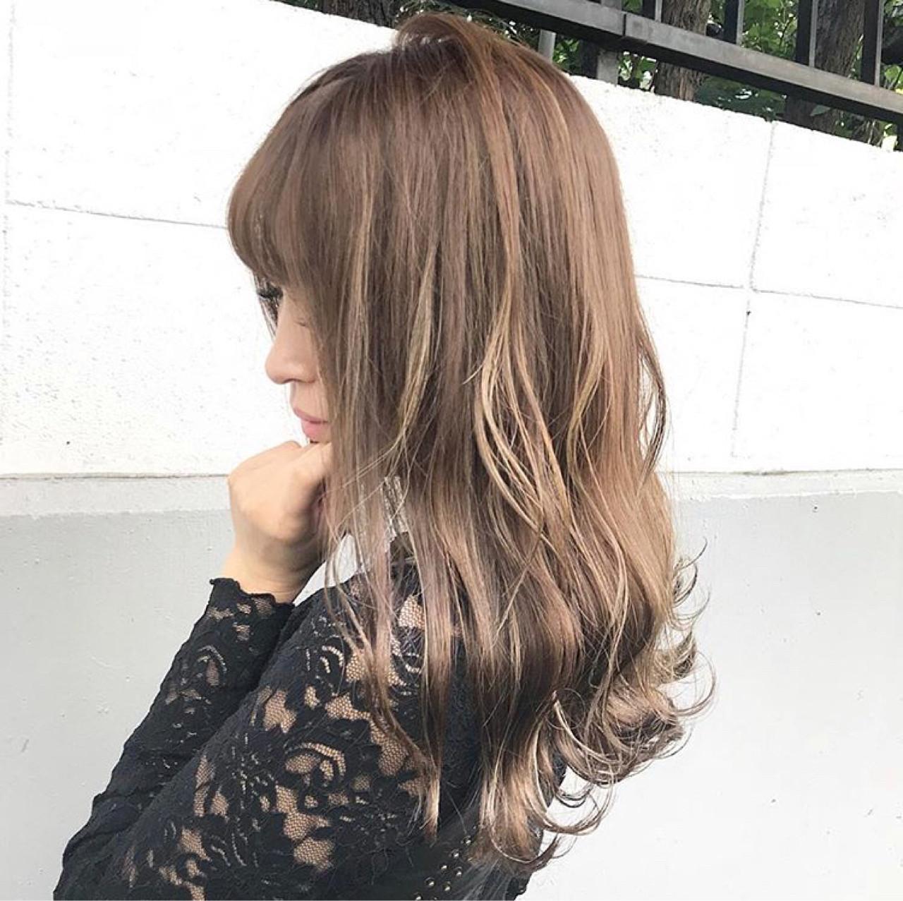 秋 上品 ハイライト 透明感 ヘアスタイルや髪型の写真・画像 | 落合 健二 / hair ales