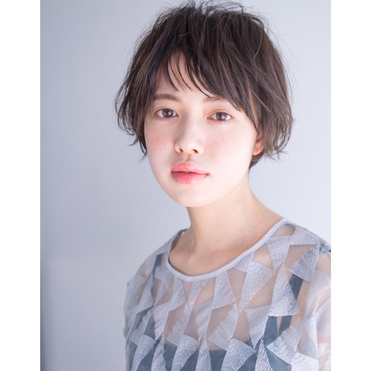 パーマ 大人女子 ナチュラル ショート ヘアスタイルや髪型の写真・画像 | anti_RIKUSHI / ANTI