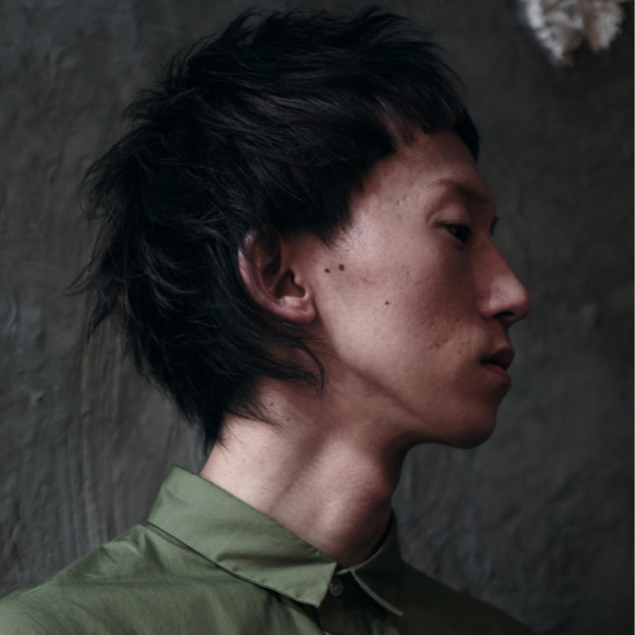 前髪あり モード ショート メンズ ヘアスタイルや髪型の写真・画像   西川 賢一 blast / blast