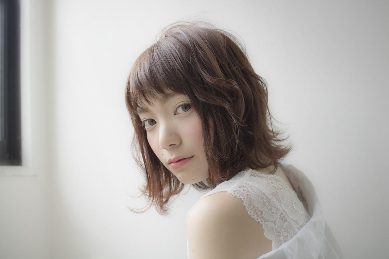 大人女子 ウェーブ ナチュラル 秋 ヘアスタイルや髪型の写真・画像 | 早川和高 / noi
